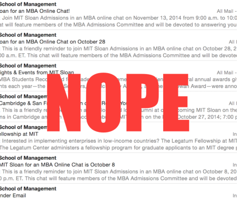 TheEngineerMBA Update: Still No Word from MIT or Stanford